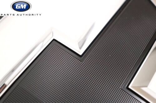 2014-2015 Chevrolet Silverado 1500 2015-2018 HD/'s Black Bowtie Emblems 84346558