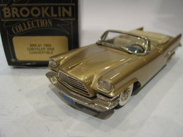 143 BROOKLIN 41 CHRYSLER 300E CONverdeIBLE 1959