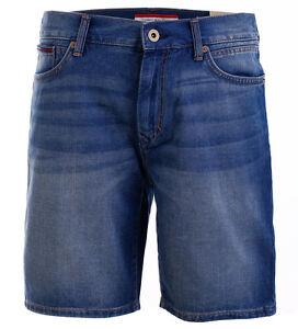 tommy hilfiger jeans short bermuda kurze hose jeansshorts all sizes. Black Bedroom Furniture Sets. Home Design Ideas