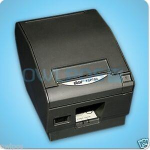 Star tsp700ii pos thermal receipt printer serial dark gray for Thermal star windows
