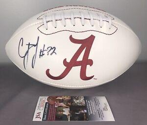 Details about C.J. Mosley SIGNED Alabama Crimson Tide Football w/ JSA COA ~ New York Jets CJ