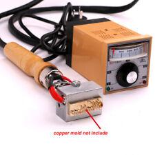 Manual Hot Foil Stamp Press Embossing Machine Leather Logo Branding 220v