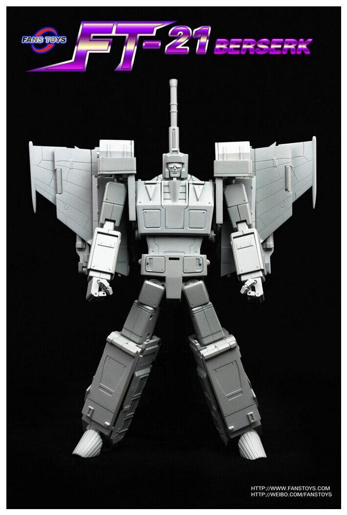 Pre-order Transformers Fanstoys FT-21 Berserk G1 Blitzwing Action figure