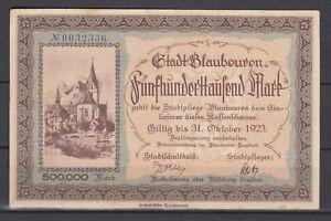Blaubeuren-City-500-Tausend-Mark