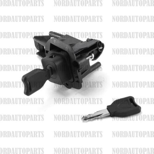 Mécanisme de serrure de coffre bouton poussoir pour RENAULT Clio 2 = 7701471225