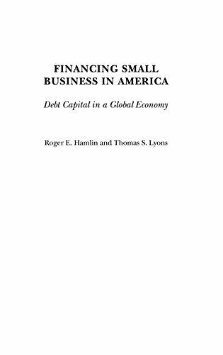 Financing Small Business in America : Debt Capital in a Global Economy-ExLibrary