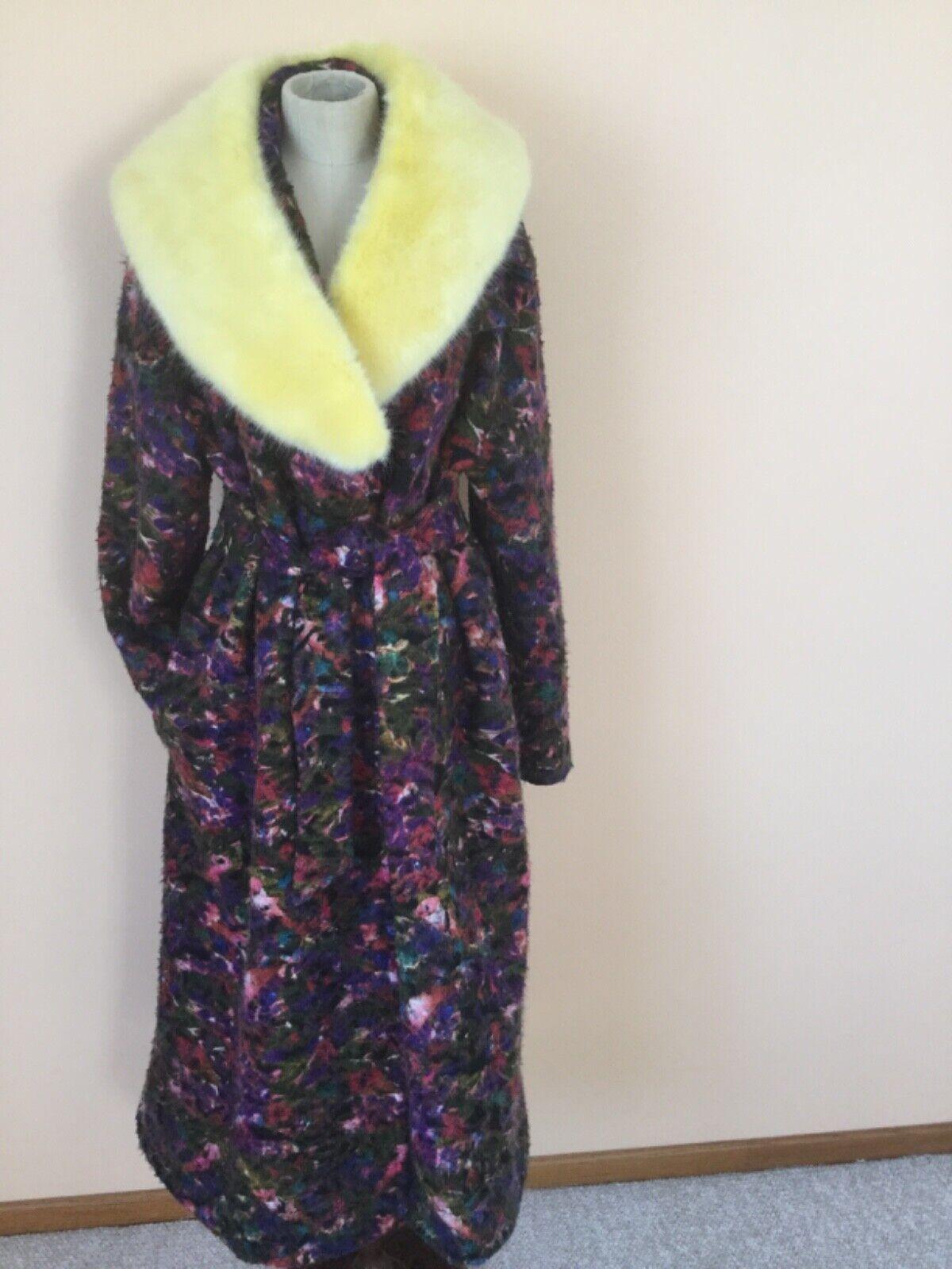 Women's Coat,Black,Floral, XXL,Wool,Lafayette148,NWOT