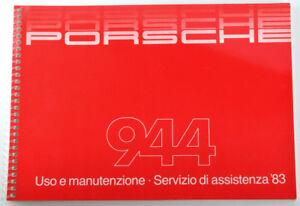 PORSCHE-944-Uso-e-manutenzione-Servizio-di-assistenza-039-83-von-7-1982