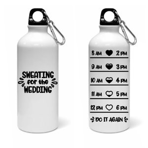 d81c526750 Image is loading Sweating-Wedding-Water-Bottle-tracker-gym-weight-loss-