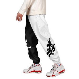 Mens-3D-Print-Color-Block-Cargo-Pants-Joggers-Pants-Trousers-004-4XL