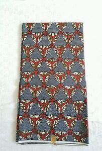 New-African-Cotton-Print-Fabric-Ankara-Stunning-Bright-Bold-Colors-Sold-Per-Yard