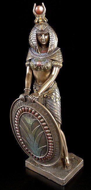 Isis Isis Isis Figura - Guerriero in Bronzo - Egitto Divinità Dekostatue 1a52bd