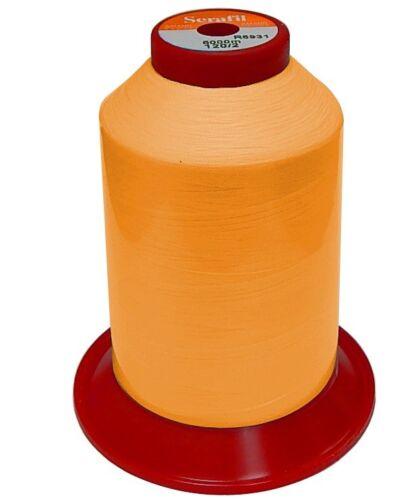 Amann Serafil 120//2-5000m Kettelgarn 1.58 EUR//1000 Meter orange