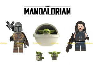 The Mandalorian Star Wars Mini-figure BRAND NEW. Fits lego and block