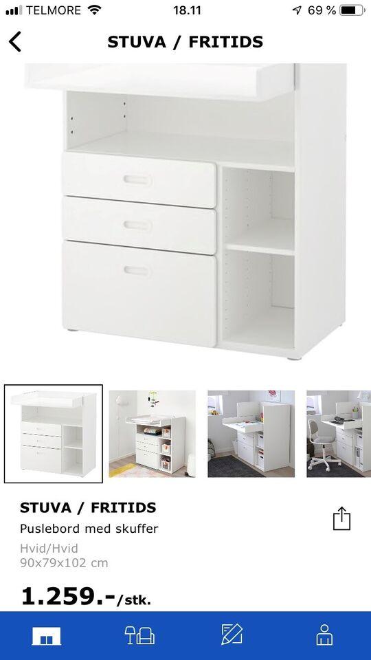 Puslebord, IKEA