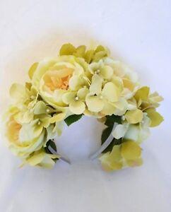 Floral-Headband-Pale-Green-Roses-Hydrangea-Boho-Floral-Fascinator-Spring-Racing