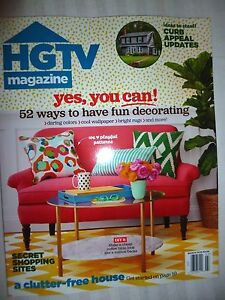 Details about HGTV Magazine March 2016 BRAND NEW! FREE SHIPPING!