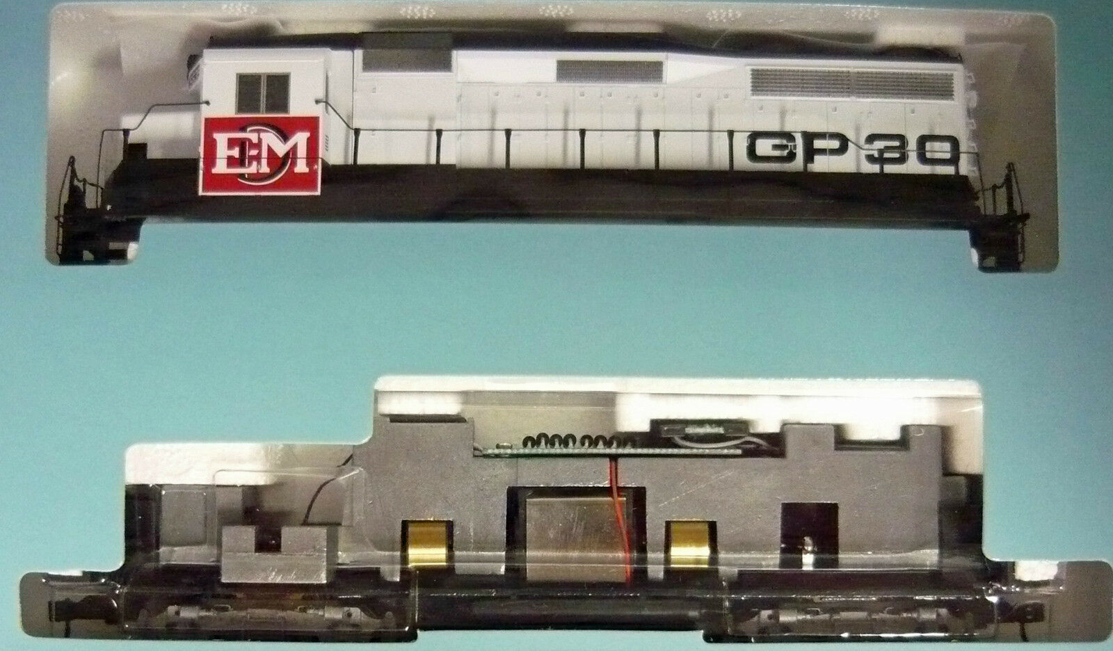 Life LIKE ProssoO 2000 21522 gp30 locomotive EMD  5639 NUOVO & In Scatola Originale