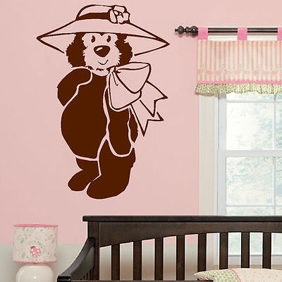 Nursery Wall Sticker Baby Teddy Bear