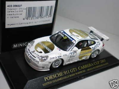 1 43 Minichamps Porsche 911 GT3 Carrera Cup 2005  27