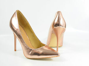 PUBLIC-DESIRE-High-Heels-Gr-6-39-Pumps-metallic-Damen-Schuhe-R6-MAR-M2