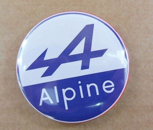 SUPERBE Magnet Aimant Frigo Logo Alpine Renault Diamètre 56 mm Neuf