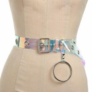 cercle-punk-ceinture-l-039-arc-en-ciel-transparent-femmes-ceinture-boucle