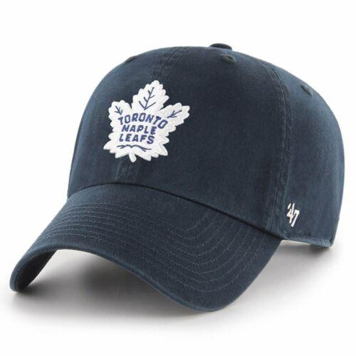 47 Brand Adjustable Cap CLEAN UP Toronto Maple Leafs navy