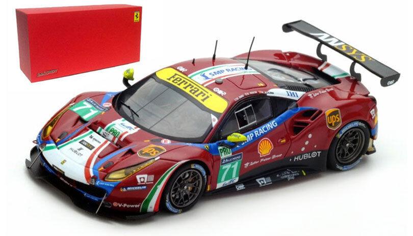 LookSmart Ferrari 488 GTE  71  AF Corse  Le Mans 2017-escala 1 43