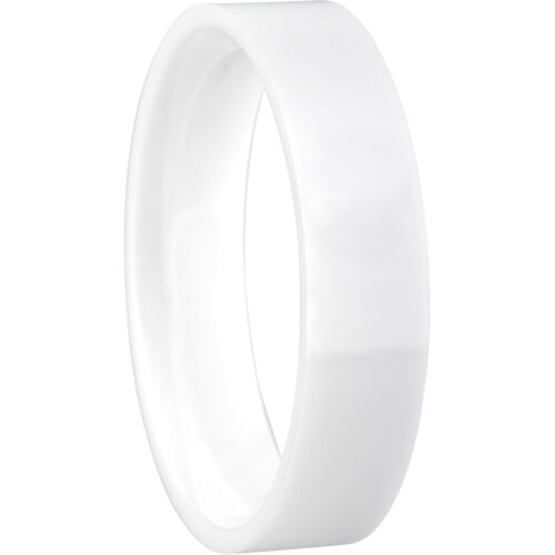 Bering anillo interior anillo blanco cerámica ancha 550-50-x2 Arctic Symphony Collection
