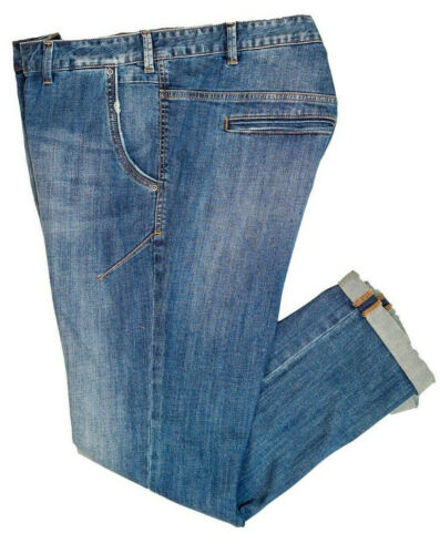 Maxfort jeans taglie forti uomo ORIAN pantalone stretch grande elasticizzato