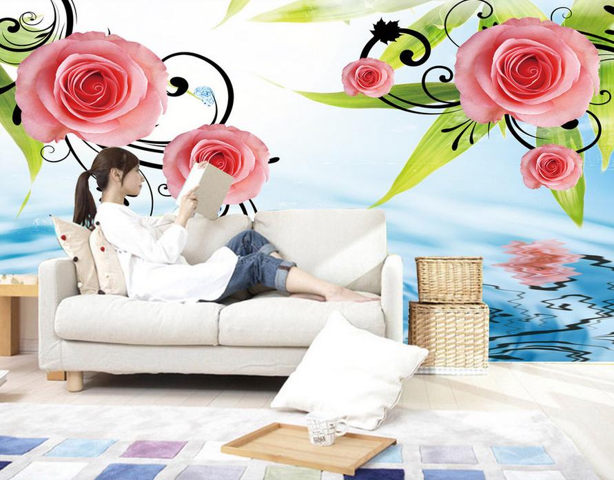 3D Rosan Mode Muster 86 Tapete Wandgemälde Tapete Tapeten Bild Familie DE Summer | Sehr gelobt und vom Publikum der Verbraucher geschätzt  | Outlet Online Store  | Qualität und Verbraucher an erster Stelle