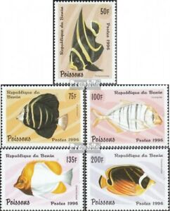 Frugal Benin 897-901 Unmounted Mint Animal Kingdom Never Hinged 1996 Fish