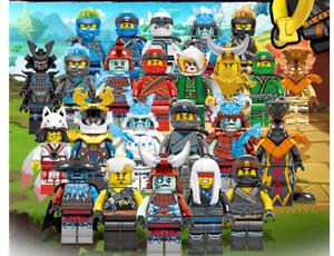 Lot-pack-de-24-Ninjago-etat-neuf-modeles-2020