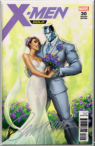 X-MEN GOLD 30 J SCOTT CAMPBELL VARIANT KITTY PRYDE /& COLOSSUS WEDDING NM