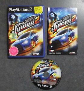 JUICED-2-Hot-Import-PLAYSTATION-2-PS2-CON-LIBRETTO-ISTRUZIONI-Usato
