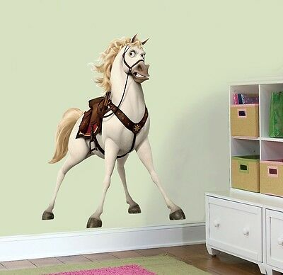 DISNEY TANGLED MAXIMUS Decal Removable WALL STICKER Home Decor Movie Repunzel