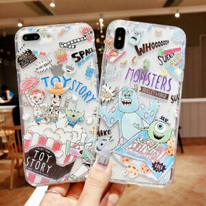 0f3b2acb4ec7d Toy Story Disney TPU Silicone Phone Case Cover For iPhone X XS Max ...