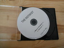 CD Indie The Notwist - Where In This World (2 Song) Promo CITY SLANG disc only