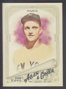 Topps-Allen-amp-Ginter-2018-Base-229-Roger-Maris-New-York-Yankees