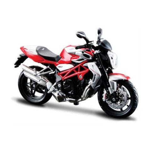 ° Bburago 51030 MV Agusta Brutale 1090 RR rojo escala 1:18 modelo motocicleta nuevo