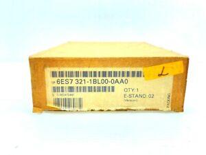 SIEMENS SIMATIC S7 6ES7 321-1BL00-0AA0 SM321 DIGITAL INPUT MODULE