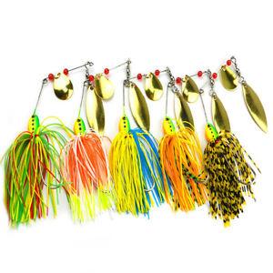 Eg-5Pcs-Barbe-Brillant-Metal-Feuille-Peche-Leurre-Bass-Crochet-Spinner-Bait-A