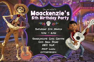 Personalised Disney Descendants 2 Birthday Party Invites Inc Envelopes DEC6