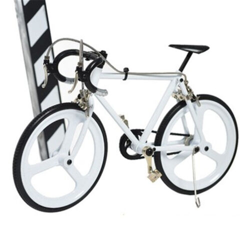 Exquisite 3D DIY Mountain Bicycle Toy Bedroom Decoration Bike Cycling Model Gift