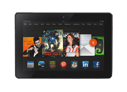 Amazon Kindle Fire Hdx 7 3rd Generation 16gb Wi Fi 7in Black For Sale Online Ebay