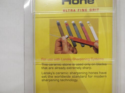 New LANSKY Sharpener Replacement Hone Yellow Ultra Fine S1000