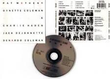 "PAT METHENY , ORNETTE COLEMAN... ""Song X"" (CD) 1986"