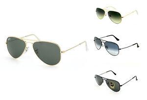 Brand-New-Ray-Ban-Aviator-Small-Metal-Sunglasses-RB3044