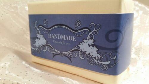 Amazing Wrap Paper Tape Band Homemade Soap Bar wraps Horizontal Style 50pcs